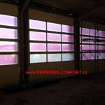Usi Industriale + Panouri vitrate + usa pietonala